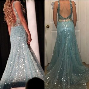 prom + pageant dress